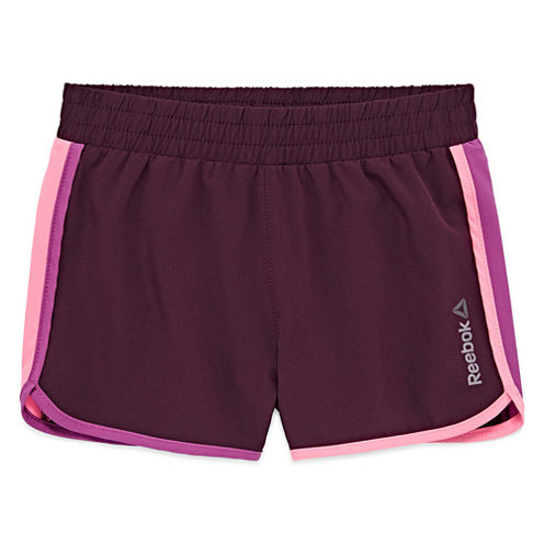 Reebok Pull-On Shorts Preschool Girls