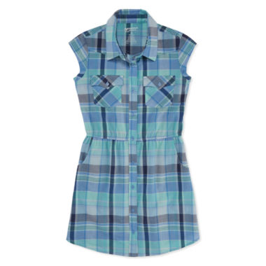 jcpenney.com | Arizona Sleeveless Shirt Dress - Big Kid Girls