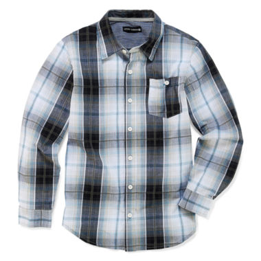 jcpenney.com | Ocean Current Long Sleeve Button-Front Shirt Boys