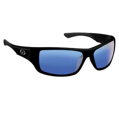 jcpenney.com | Flying Fisherman Triton Matte Blk Smoke Blue Mirror Sunglass