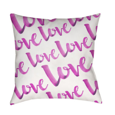 jcpenney.com | Decor 140 Eternal Love With White Background Square Throw Pillow