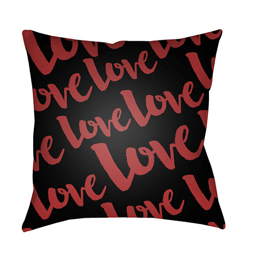 Decor 140 Eternal Love Square Throw Pillow