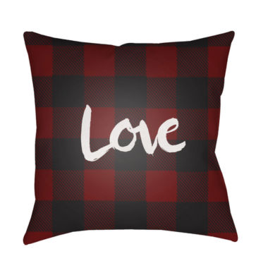 jcpenney.com | Decor 140 Plaid Love Square Throw Pillow