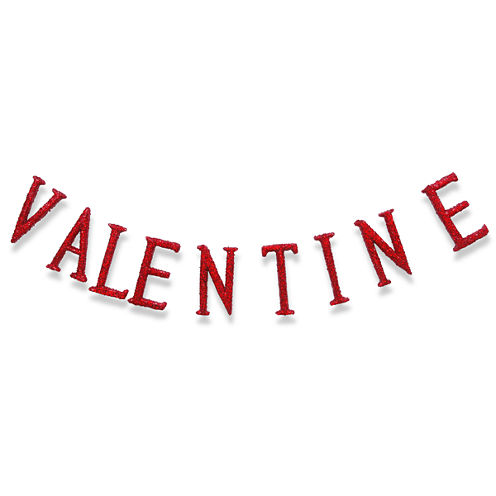 "National Tree Co. 76"" Valentine Sign Garland"