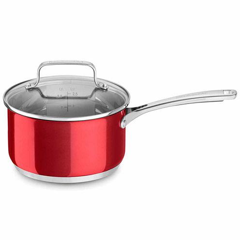 Kitchen Aid Stainless Steel Sauce Pan