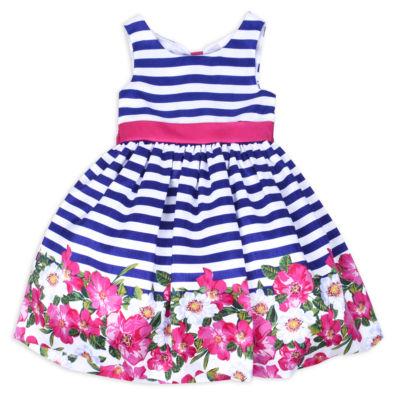 Nanette Baby Sleeveless Party Dress Toddler Girls JCPenney