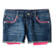 Total Girl® Cutoff Shorts - Girls 6-16 and Plus