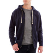 St. John's Bay® Lightweight Full-Zip Hoodie