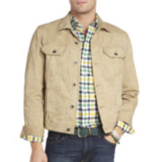 IZOD® Twill Trucker Jacket