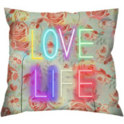 Love Life Decorative Pillow