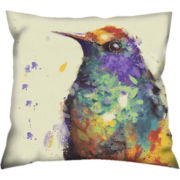 Hummingbird Decorative Pillow