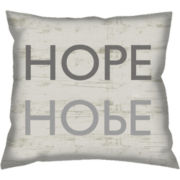 Hope Decorative Pillow