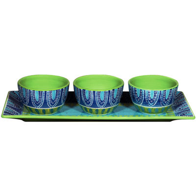 Certified International Tapas 4-pc. Serving Set
