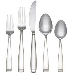 Reed & Barton Silver Bands 45-pc. Flatware Set