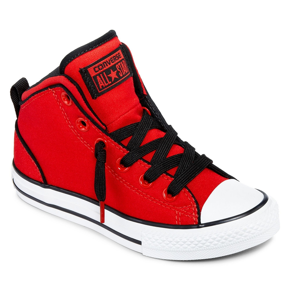 cb70b209924b JCPenney. Converse All Star Chuck Taylor Static Boys High Top Sneakers