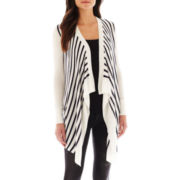 MNG By Mango® Drape-Front Cardigan Sweater