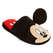 Mickey or Minnie Mouse Womens Slippers