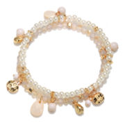 Delicates by PALOMA & ELLIE Two-Row Stretch Bracelet