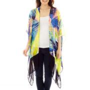 Mixit™ Vibrant Border Kimono