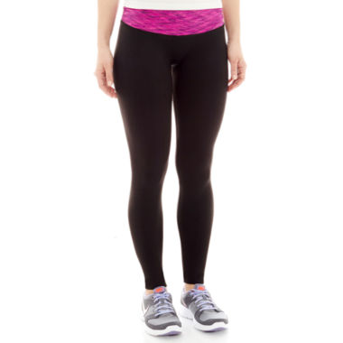 jcpenney.com | Mixit™ Seamless Space-Dyed Waistband Leggings