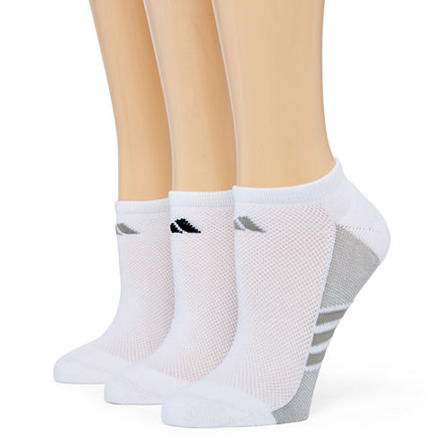 adidas® 3-pk. ClimaLite Superlite No-Show Socks