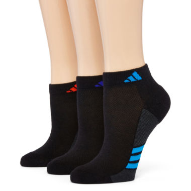 jcpenney.com | adidas® 3-pk. ClimaLite Superlite Low-Cut Socks