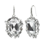 love struck™ Square Crystal Drop Earrings