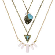 Decree® 3-pc. Novelty Gold-Tone Necklace Set