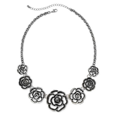 jcpenney.com | Arizona Open Flower Statement Necklace