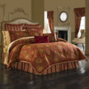 Queen Street® Scarlet 4-pc. Comforter Set & Accessories