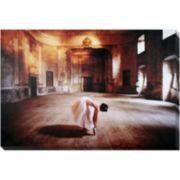 Ballet Rehearsal Canvas Wall Art