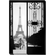Eiffel Gates 1925 Canvas Wall Art