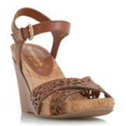 Head Over Heels by Dune Kamilla Laser Cut Wedges