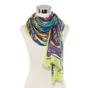 Studio 36 Paisley Oblong Scarf
