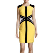 Studio 1® Sleeveless Colorblock Sheath Dress
