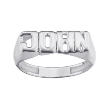 jcpenney.com | Personalized Bold Name Ring