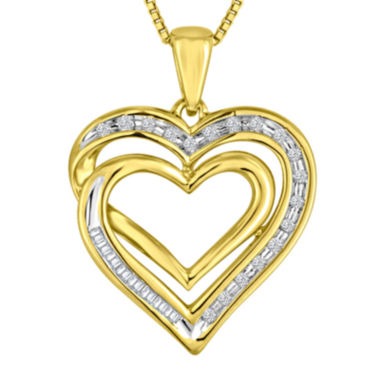 jcpenney.com | ForeverMine® 1/10 CT. T.W. Diamond Pendant Necklace
