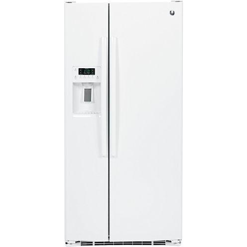 GE® 22.5 Cu. Ft. Side-By-Side Refrigerator