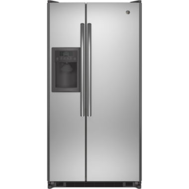 "jcpenney.com | GE® ENERGY STAR® 21.8 Cu. Ft. 33.5"" Wide Side-By-Side Refrigerator"