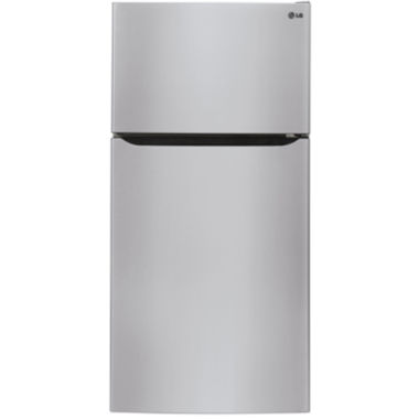 "jcpenney.com | LG ENERGY STAR® 20.2 cu. ft. 30"" Wide Top Freezer Refrigerator with Ice Maker"