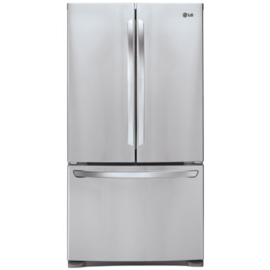 jcpenney.com | LG ENERGY STAR® 27.9 cu. ft. Ultra Large Capacity3-Door French Door Refrigerator