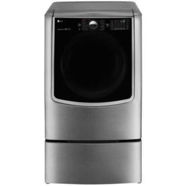 jcpenney.com | LG ENERGY STAR® 9.0 cu. Ft. Ultra Large High-Efficiency Gas SteamDryer™ with SteamSanitary™ Turbo Steam