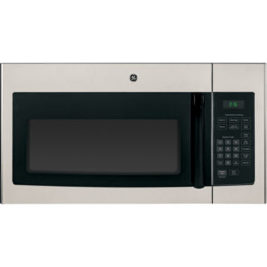 jcpenney.com | GE® 1.6 Cu. Ft. Over-the-Range Microwave Oven with Recirculating Venting