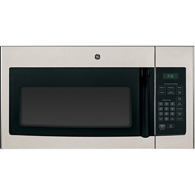 Ge 1 6 cu ft over the range microwave oven with recirculating venting jnm3161mfsa jcpenney - Red over the range microwave ...