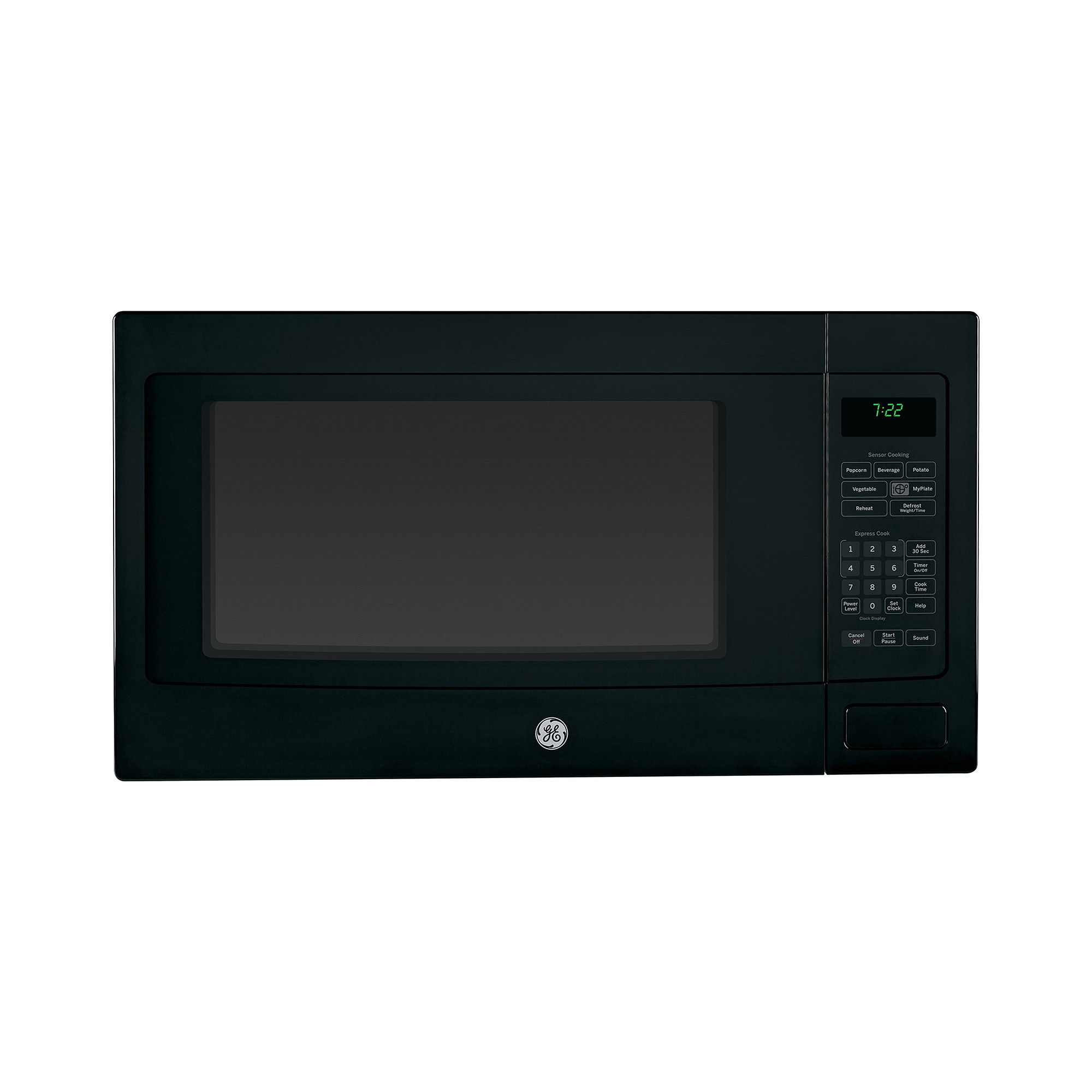GE Profile 2.2 Cu. Ft. Countertop Microwave Oven with Sensor Cooking ...
