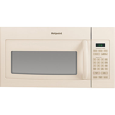 Hotpoint 1 6 cu ft over the range microwave oven rvm5160dhcc jcpenney - Red over the range microwave ...
