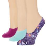 Mixit™ 3-pk. Liner Socks