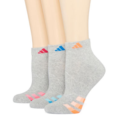 jcpenney.com | adidas® 3-pk Cushion Low-Cut Socks
