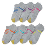 Gold Toe®6-pk.+1 Trekker No-Show Socks