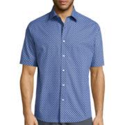 Claiborne® Short Sleeve Woven Shirt